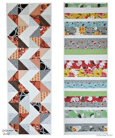 Saltwater Quilts: Reversible Table Runner