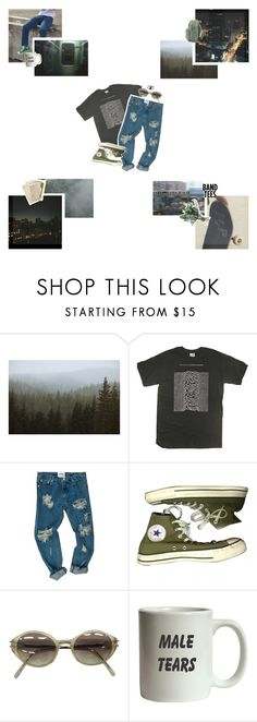""".:: we would have a fine time living in the night ::."" by unidentifiedflyingazia ❤ liked on Polyvore featuring Kevin Russ, Paul Frank, OneTeaspoon, Converse, Jean-Paul Gaultier and Religion Clothing"