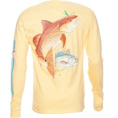Guy Harvey Men's Redfish Sea Trout T-shirt