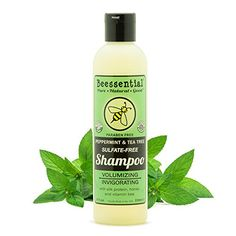 Beessential Tree SulfateFree Shampoo Peppermint and Tea 8 Ounce * Be sure to check out this awesome product.