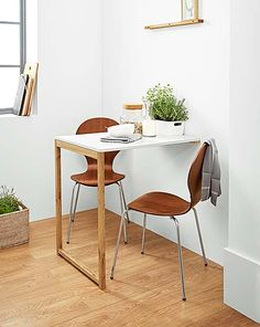 Fantastisch Narrow And Small Rooms Set Up With Modern Folding Table