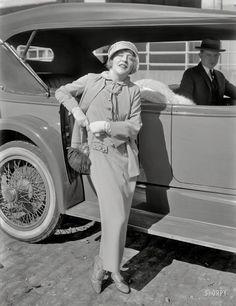 "Mae's Duesie: 1925 San Francisco circa ""Film star Mae Murray and Duesenberg auto."" x inch glass negative, originally from the Wyland Stanley collection. Vintage Photographs, Vintage Photos, Vintage Films, Mae Murray, John Gilbert, Silent Film Stars, Movie Magazine, Badass Women, Classic Chic"