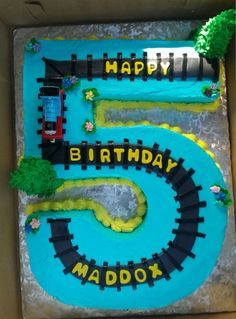 Thomas the Train Cake ;)