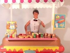 barbie hot dog stand - Google Search