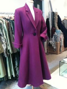 New winter coat being made at Beau Monde!
