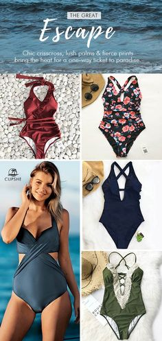 Treat yourself to the trendy items! Splash up these fantastic styles next time you're at the beach or by the pool. Enjoy sunshine and breeze during your vacation. FREE shipping~ Can't miss!