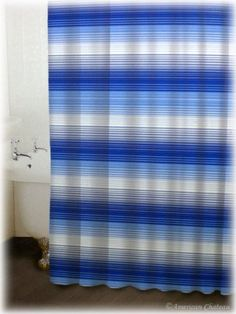 Chic Blue Retro Sea Horizontal Stripe Bath Bathroom Fabric Shower Curtain American Chateau http://www.amazon.com/dp/B002JA7IGS/ref=cm_sw_r_pi_dp_7Lz4wb02KYEQK