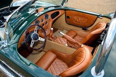 AC Cobra Rep interior