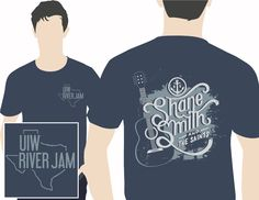 #UIW river Jam shirt for UIW welcome week!  #JCREDdesigns #Graphics #design #idea