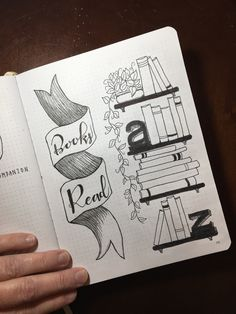 Books read page #bulletjournaling