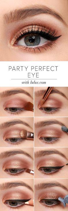 Ojos discretos y tiernos para poder utilizar en cualquier momento