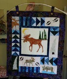 LeAnne's Moose Wall hanger
