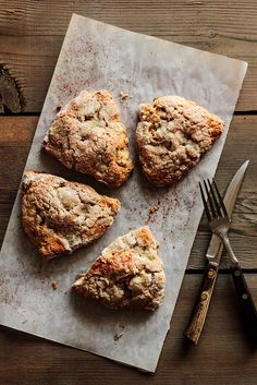 Chai Pear Scones by @Kristin | Pastry Affair