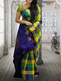 New Designer Silk Saree Cash On Delhi very available Free Shipping #saree #indiansaree #southfashion