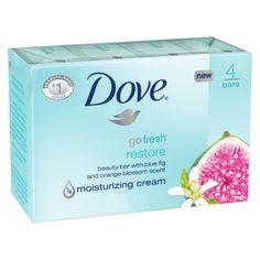Dove Bar Soap Blue Fig & Orange Blossom