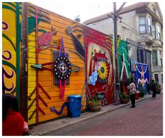Balmy Alley, Mission District San Francisco