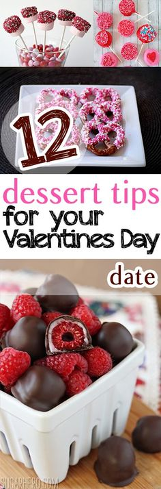 12 Dessert Tips for Your Valentines Day Date – Picky Stitch – ++ Valentine's Day ++ - Healthy Food Art Valentine Desserts, Valentines Day Treats, Holiday Treats, Valentine Day Crafts, Holiday Recipes, Holiday Desserts, Menu Saint Valentin, Desserts Valentinstag, Valentines Day Date