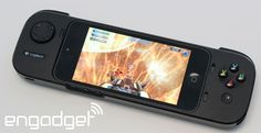Hands-on with Logitech's PowerShell Controller, an iOS 7 gamepad that charges your phone
