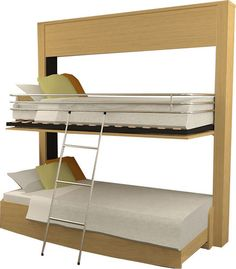 Contemporary Murphy Bunk Bed Lift Security
