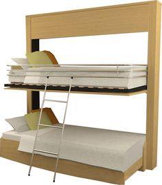 quelques solutions pour am nager vos petits espaces lit escamotable et lit rabattable. Black Bedroom Furniture Sets. Home Design Ideas