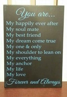 Love Quotes For Him : QUOTATION - Image : Quotes Of the day - Description Anniversary Wedding Birthday Valentines Gift by KyMadeCrafts Sharing is Caring - Don't forget to share this quote Birthday Gift For Him, Diy Birthday, Birthday Ideas, My Birthday Quotes, Birthday Recipes, Husband Birthday, Birthday Nails, Def Not, My Dream Came True