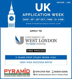 London Free, West London, Education Consultant, Work Visa, Overseas Education, Uk Post, 18th, University, How To Apply