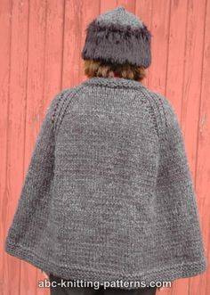 ABC Knitting Patterns - Highlands Cape