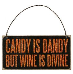 Candy Dandy Box Sign Plaque - $2