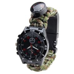 Duluxe Paracord Survival Watch