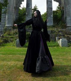 Melian Coat by Moonmaiden Gothic Clothing UK