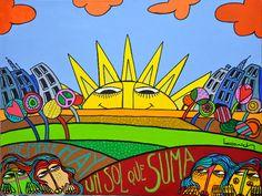 OBRAS : Claudio Baldrich Artista Plastico Seascape Art, Image Types, Planner Stickers, Google Images, Folk, Plane, Colors, Etchings, Block Prints