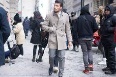 Mariano Di Vaio New York Fashion Week 2015 Street Style www.wmfeed.me