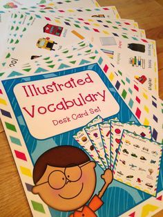 Illustrated Vocabulary Lists