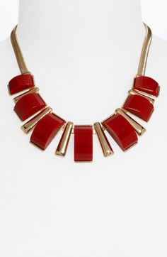 Pongo red gold necklace