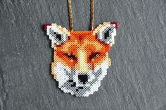 Fox Love collier made by Truc & Toc