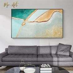 Modern Canvas Painting Blue and Yellow Wall Poster Decoration Abstract Wall Art Picture for Living Room Nordic Home Decoration Living Room Pictures, Wall Art Pictures, Poster Decorations, Nordic Home, Yellow Walls, Abstract Wall Art, Spray Painting, Poster Wall, Canvas Prints
