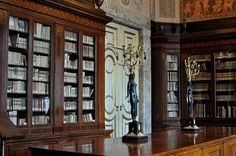 First reading room, Royal Palace of Caserta