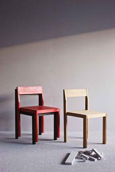 Daniel Barbera Timber Chair   Yellowtrace