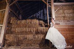 #barn #bridal #photography Jillian + Chris | Married | Huron County Wedding Photographer | Farm Wedding Photography Beautiful Farm, Most Beautiful, Huron County, Bridal Photography, Farm Wedding, Ontario, Barn, Weddings, Converted Barn