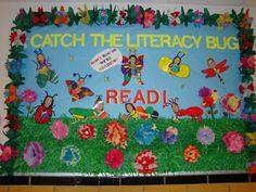 Reading Bulletin Board for Spring