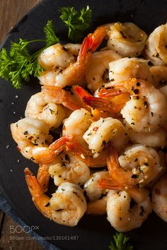 Pic: Homemade Sauteed Shrimp with Herbs