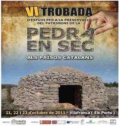 2.4.13 VI trobada d'estudi per a la preservació del patrimoni de la pedra en sec als països catalans