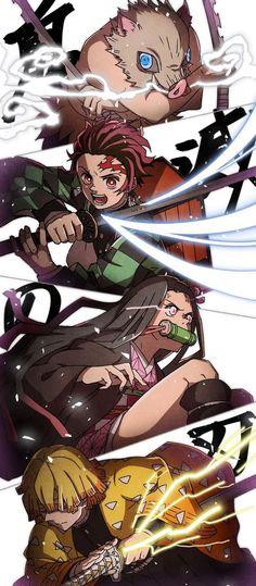 Demon Slayer Kimetsu No Yaiba M Anime, Anime Demon, Otaku Anime, Cool Anime Wallpapers, Animes Wallpapers, Android Wallpaper Anime, Demon Slayer, Slayer Anime, Slayer Tattoo
