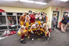 Check out images of the Washington Redskins celebrating their 2015 Week 16 victory -- and their NFC East title -- over the Philadelphia Eagles Dec. 26, 2015, at Lincoln Financial Field.