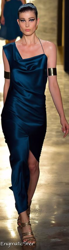 #blueandgoldpromspirit Cushnie et Ochs Spring Summer 2015 Ready-To-Wear jaglady
