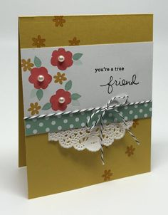 Know what I love?    I love a great card design.    A great card design that looks fabulous in different color combinations.    Like this: ...
