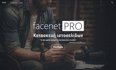 Η κατασκευή των ιστοσελίδων της Facenet ακολουθούν σύγχρονες σχεδιαστικές τάσεις και πρότυπα Portfolio Website, Editorial, Ads, Movie Posters, Film Poster, Billboard, Film Posters