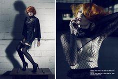 Clive in Gaschette Mag Jena, Magazine, Fashion Design, Warehouse, Newspaper