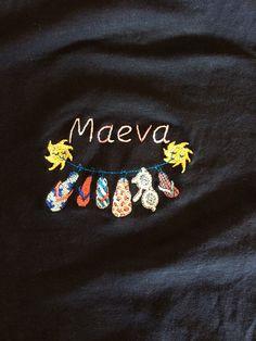 Vive les vacances et le soleil Maeva ! Laeti-Broderie