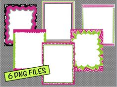 A few really cute borders to use...and they are free!  I love the first one especially!